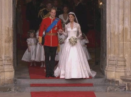 Catherine's Wedding Dress